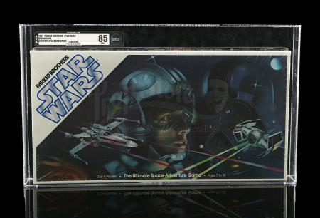 Lot # 657 - Star Wars: Ultimate Space Adventure AFA 85