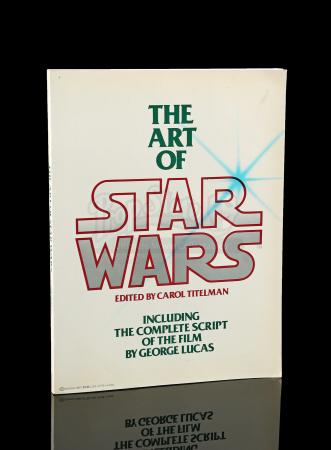 Lot # 658 - The Art of Star Wars Book And ESB Sketchbook