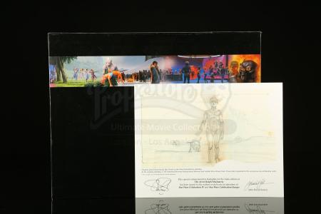 Lot # 663 - The Art of Ralph McQuarrie And Lithograph Print