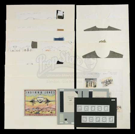 Lot # 684 - Oversize Hand-Made Licensing Apparel Concept Posters