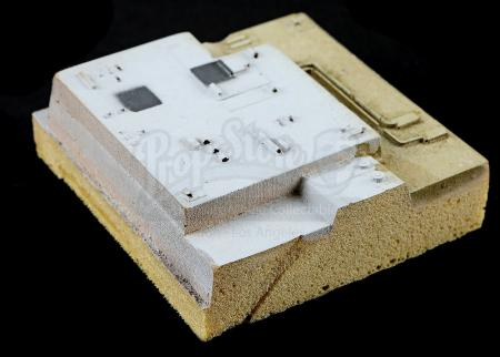 "Lot # 696 - 3""x3"" Death Star Model Surface Panel"