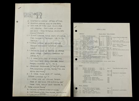 Lot # 719 - ESB Models And Sets Paperwork
