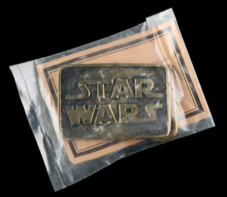 Lot # 746 - Star Wars Brass Belt Buckle [Kazanjian Collection]