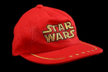 Lot # 748 - Hyashi Red Five Star Hat [Kazanjian Collection]