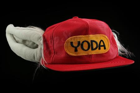 "Lot # 750 - Red ""The Yoda Hat"" [Kazanjian Collection]"