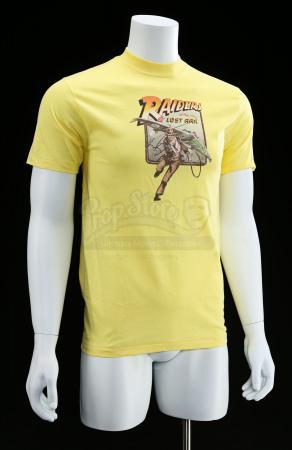 Lot # 756 - Yellow Crew Shirt [Kazanjian Collection]