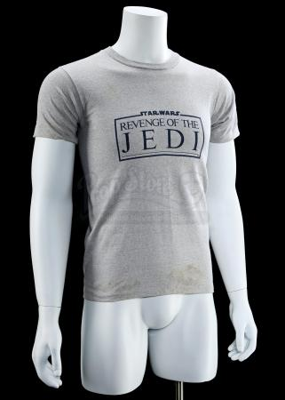 "Lot # 771 - Grey ""Revenge Of The Jedi"" Crew Shirt"