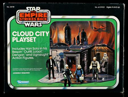 Lot # 49 - Cloud City Play Set - Unused