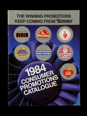 Lot # 121 - 1984 Kenner Consumer Promotions Catalog