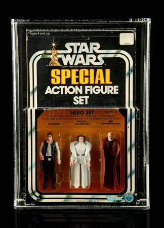 Lot # 302 - Hero Set SW Series 1 3-Pack AFA 75