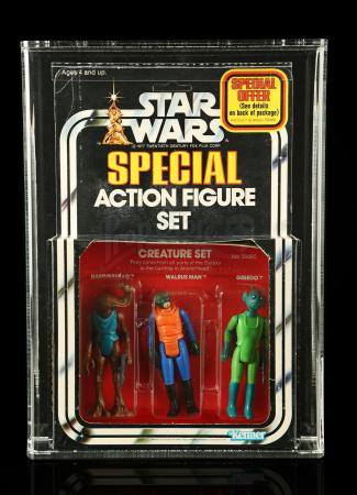 Lot # 303 - Creature Set SW Series 2 3-Pack AFA 80