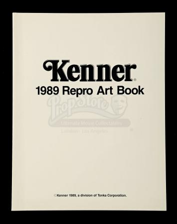 Lot # 478 - 1989 Kenner Repro Art Book