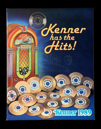 "Lot # 479 - 1989 ""Kenner Has the Hits"" Toy Fair Catalog"