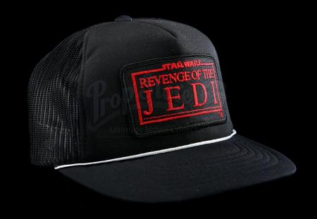 "Lot # 763 - Black ""Revenge Of The Jedi"" Crew Hat [Kazanjian Collection]"