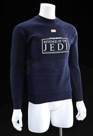 "Lot # 769 - Blue ""Revenge Of The Jedi"" Crew Sweater [Kazanjian Collection]"