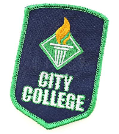 "Lot # 2 - S1E09 - ""City College Debate Team Patch"": City College Debate Team Patch"