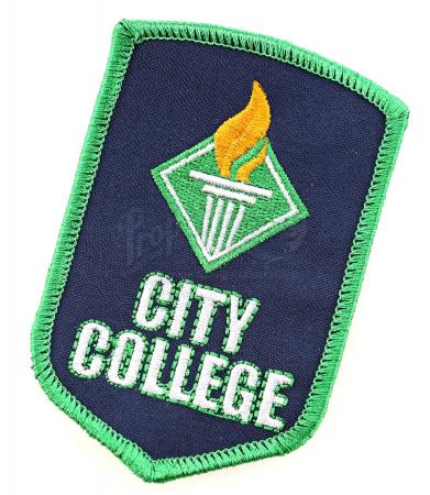 "Lot # 9 - S1E09 - ""City College Debate Team Patch"": City College Debate Team Patch"